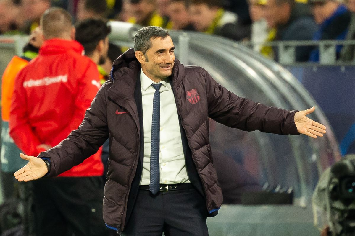 Ernesto Valverde: Barcelona 'suffered a lot' against Borussia Dortmund