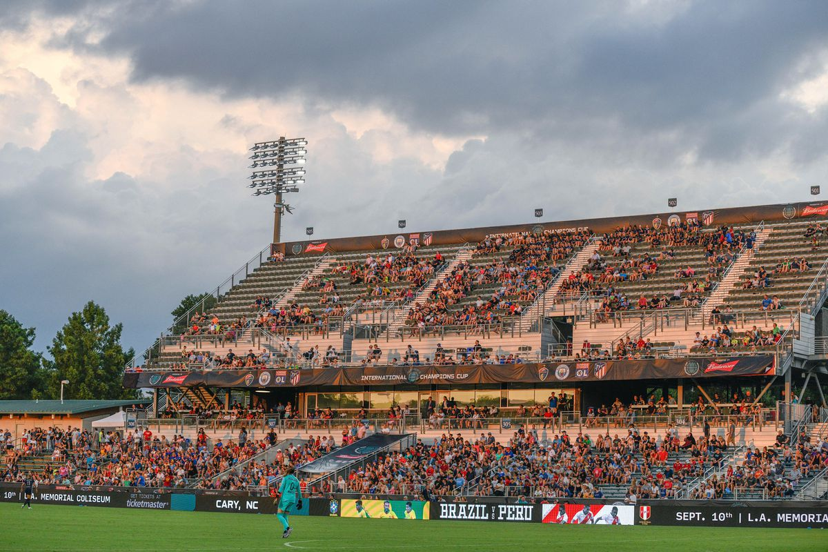 SOCCER: AUG 15 Women's International Champions Cup - North Carolina Courage v Manchester City