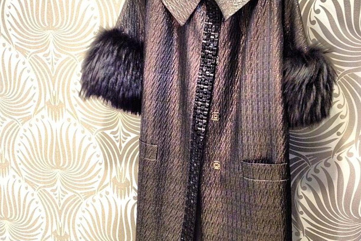 """Etro coat via <a href=""""http://web.stagram.com/n/luxurygaragesale/"""">LuxuryGarage on Webstagram</a>"""