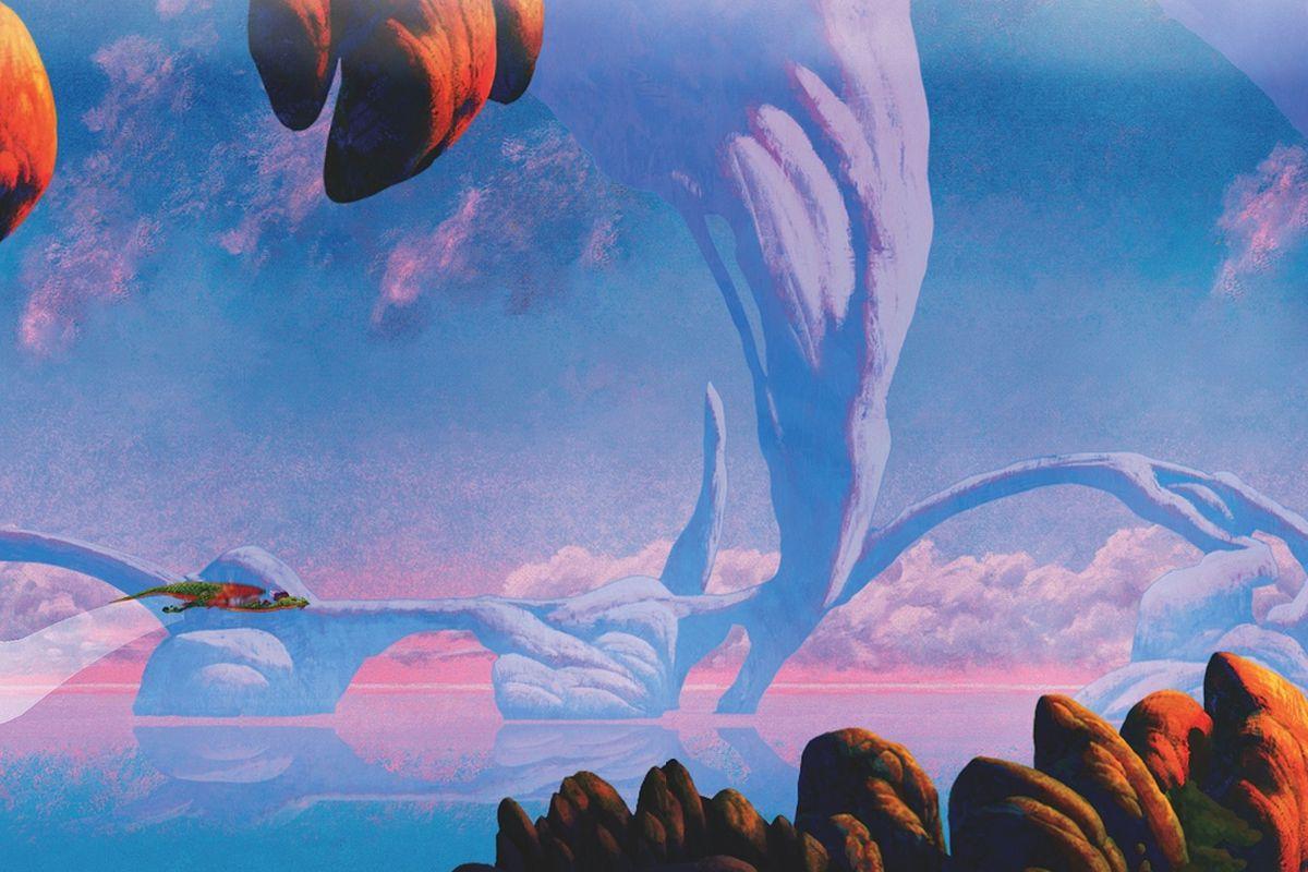 Gallery Photo: Roger Dean 'Dragon's Dream' screenshots