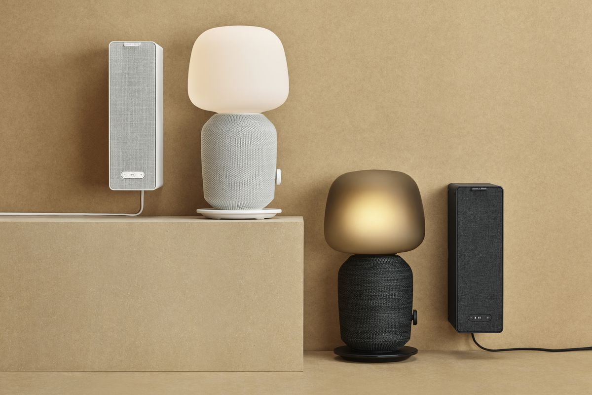 Ikea And Sonos Made The Ultimate Speaker Lamp The Verge