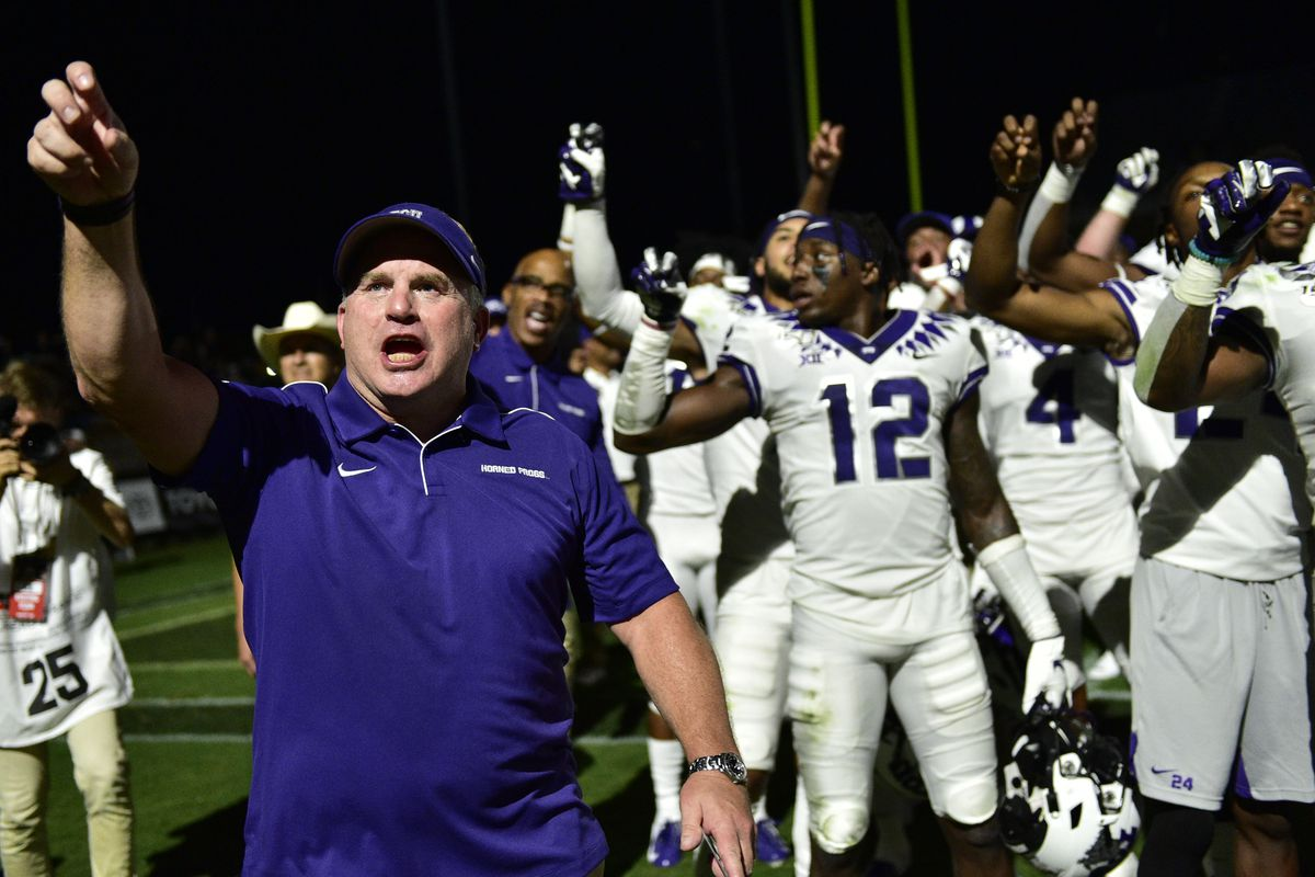 NCAA Football: Texas Christian at Purdue