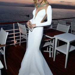 Petra Nemcova at the Vanity Fair and HBO dinner.