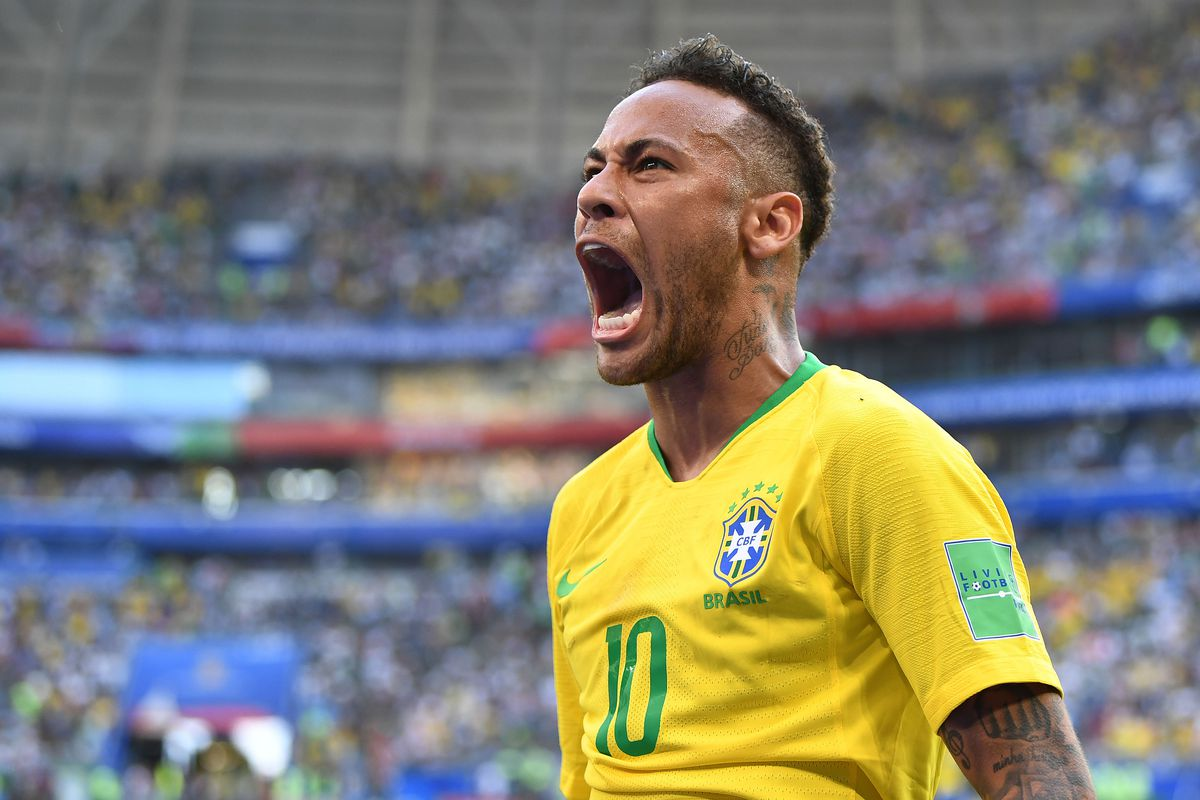 Brazil's Neymar will try to move his country past Belgium and into the World Cup semifinals on Friday, July 6.