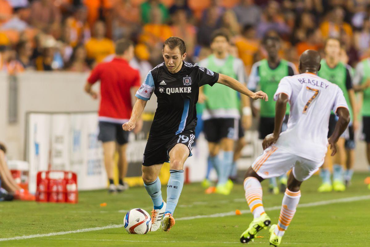 SOCCER: JUL 03 MLS - Fire at Dynamo