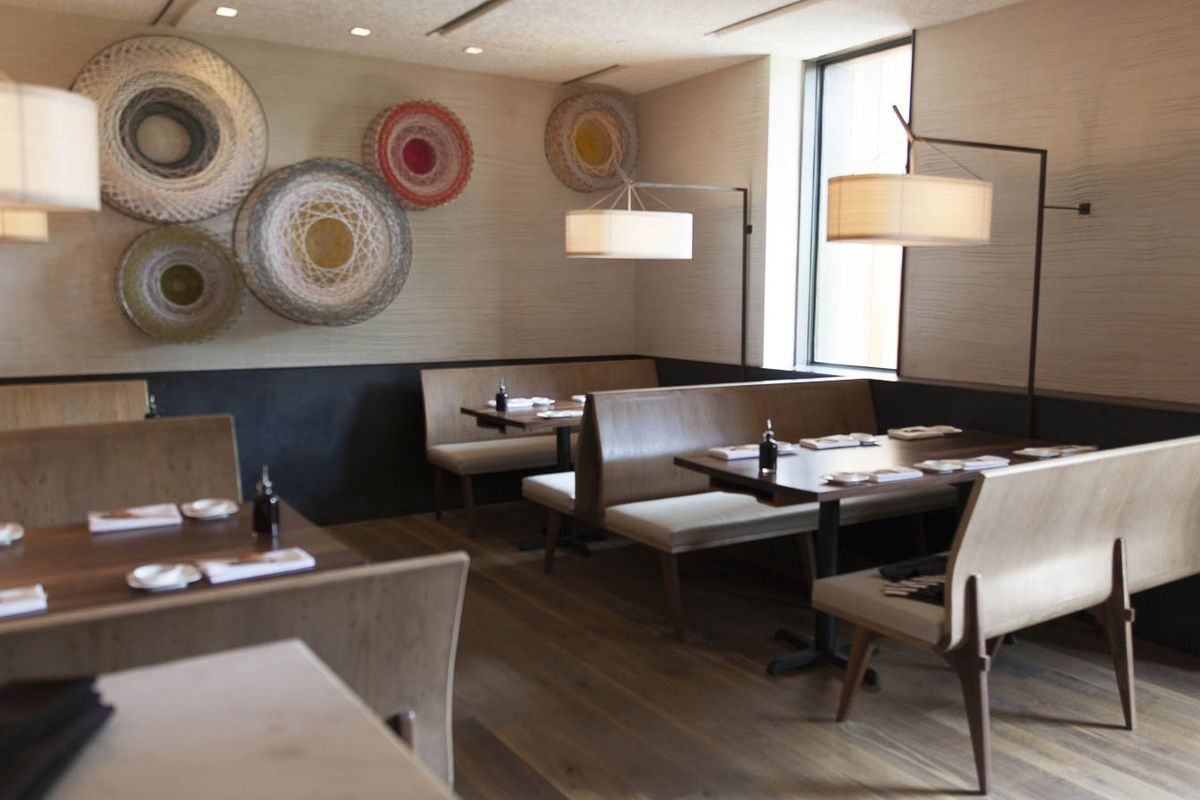 """Nilton """"Junior"""" Borges' plates will no longer grace these booths at Uchi Dallas."""