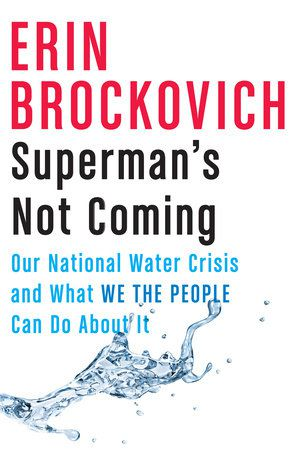 """Click for an excerpt from Erin Brockovich's """"Superman's Not Coming: Our National Water Crisis and What We the People Can Do About It."""""""