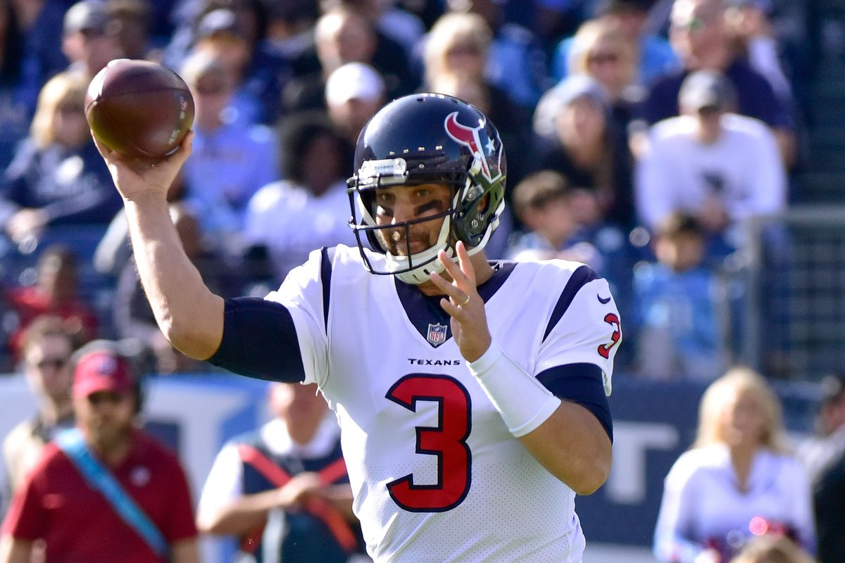 Tom Savage Exits Game After Head Injury Leaves Him Shaking On Ground