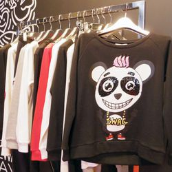 That sequined panda sweater! We can't.