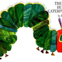 """Cover of """"The Very Hungry Caterpillar."""""""