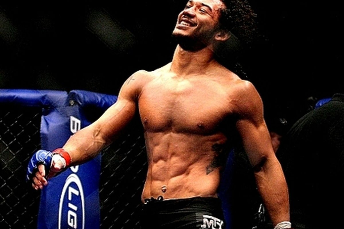 Glendale's Ben Henderson fights Frankie Edgar at UFC 144 this Saturday night in Japan. Photo courtesy of MMA Mania.