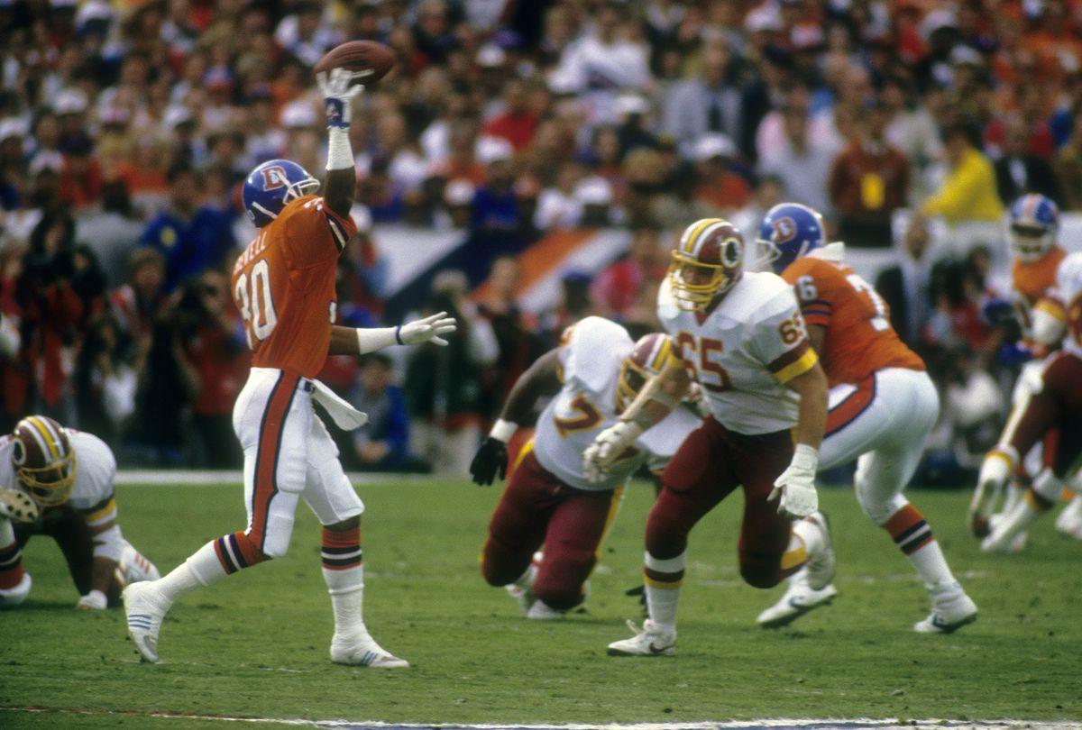 January 31, 1988: Super Bowl XXII - Denver Broncos v Washington Redskins