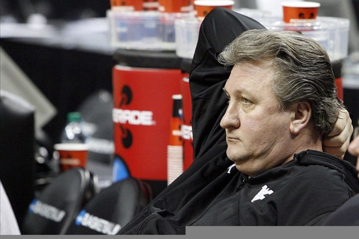 """Coach Bob Huggins had run out of gas with a team he stated was the """"worst"""" defensive team he'd coached in 30 years."""