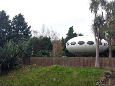 Rare UFO-shaped Futuro house is on the market for $290K