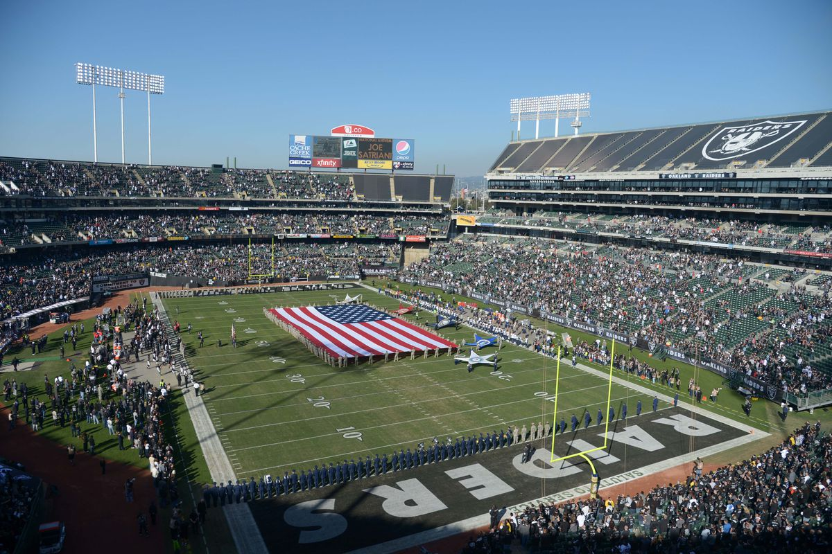 Raiders Will Remain At Oakland Coliseum In 2016 Get Additional Nfl Loan Money For New Stadium