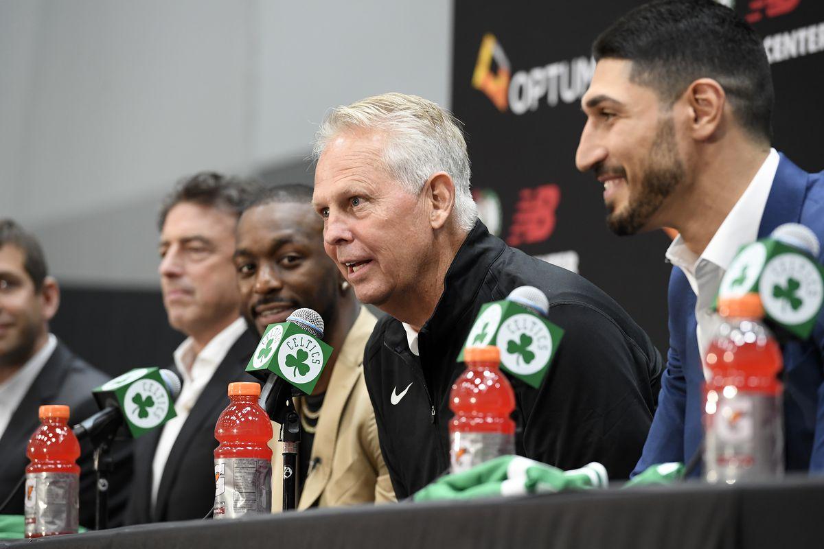 Boston Celtics Introduce Kemba Walker & Enes Kanter