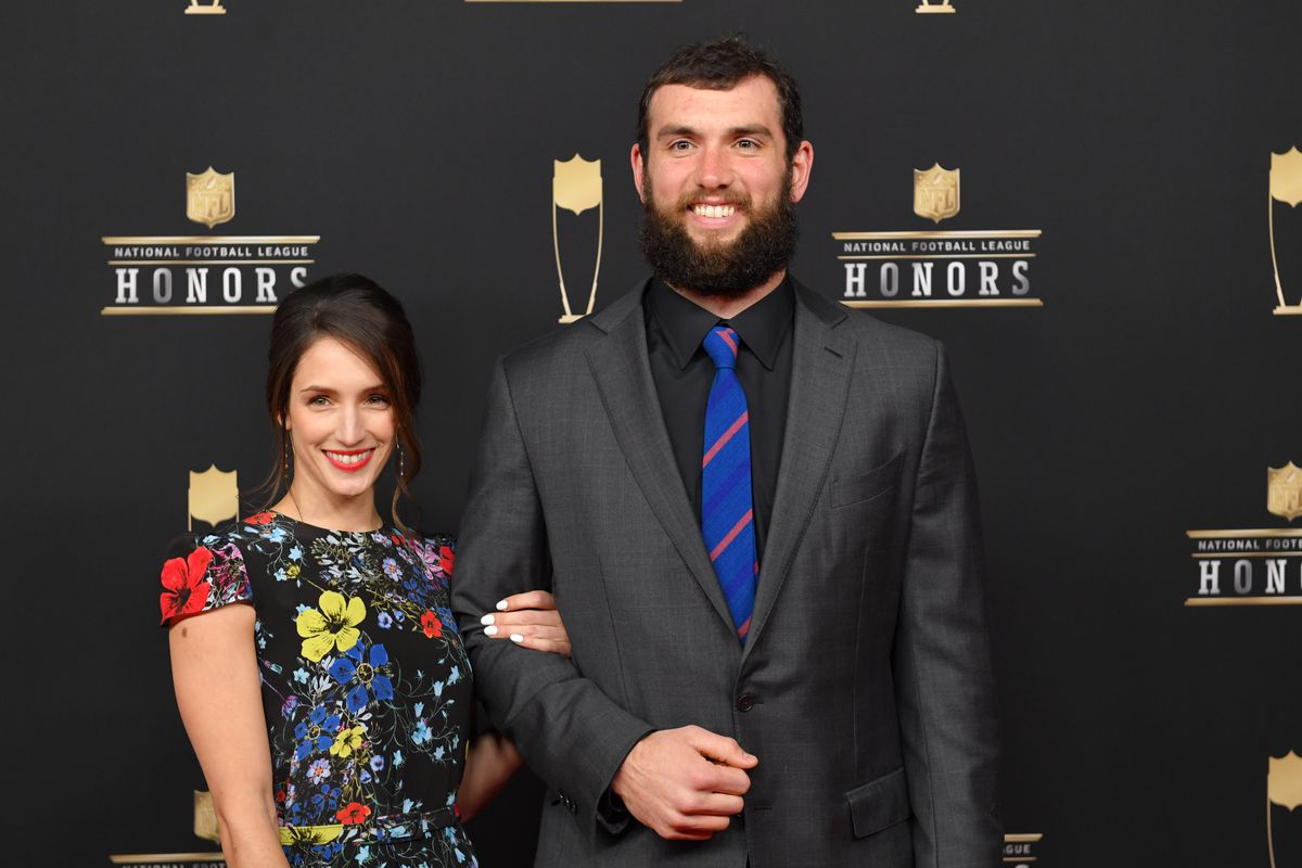 April Fool's: Andrew Luck loses disco dance-off, gets married in Prague