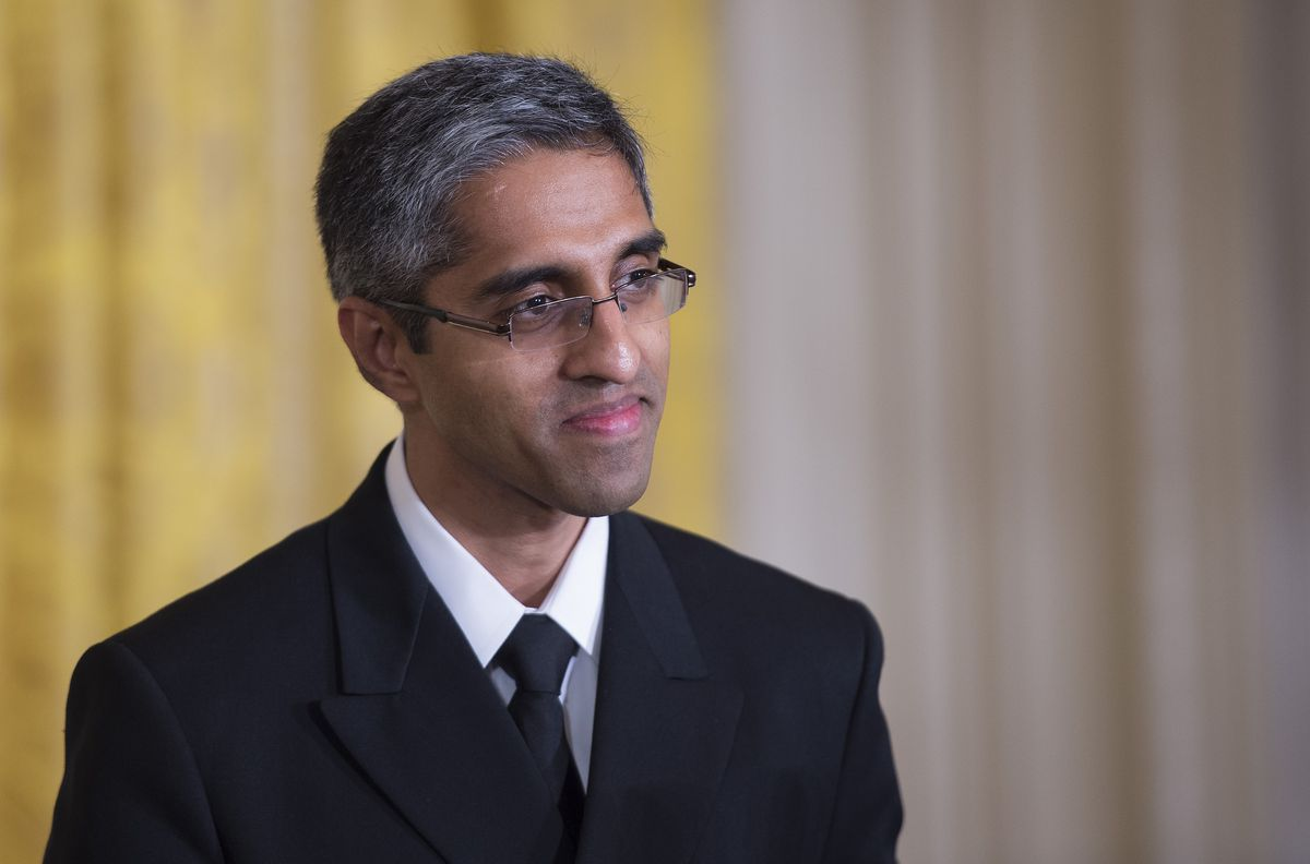 Surgeon General Vivek Murthy.