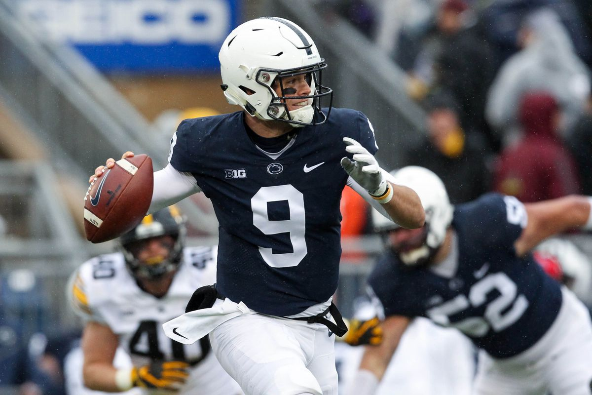 best service f7602 4f18c Trace McSorley injury: Penn State QB briefly leaves game vs ...