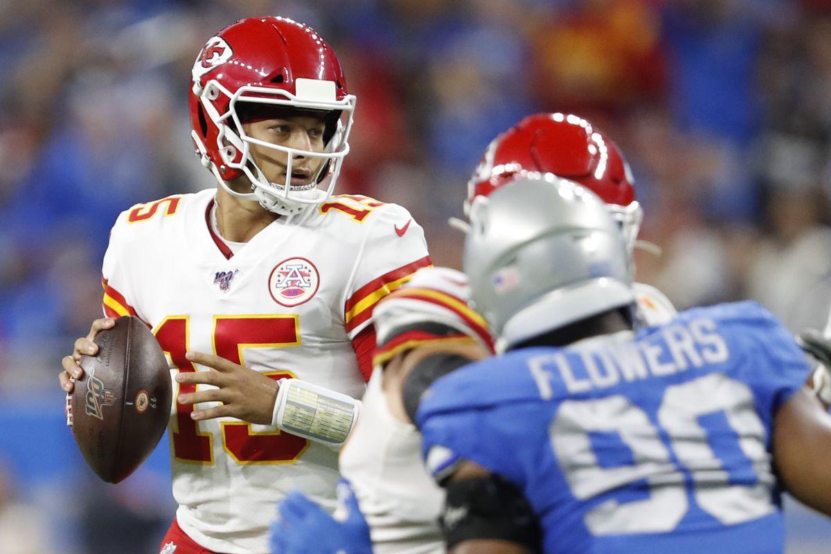 NFL: Kansas City Chiefs at Detroit Lions