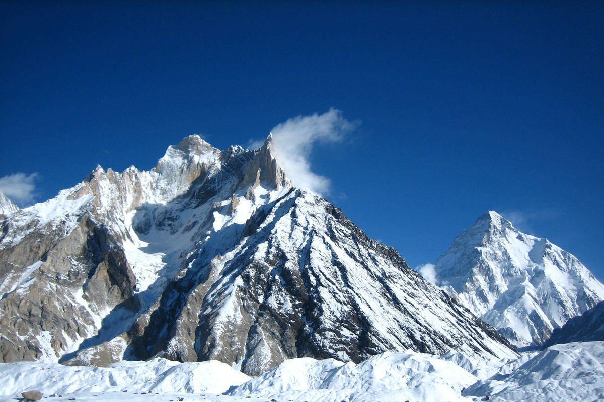 Cristal Peak, Marble Peak and K2 (Pakistan)