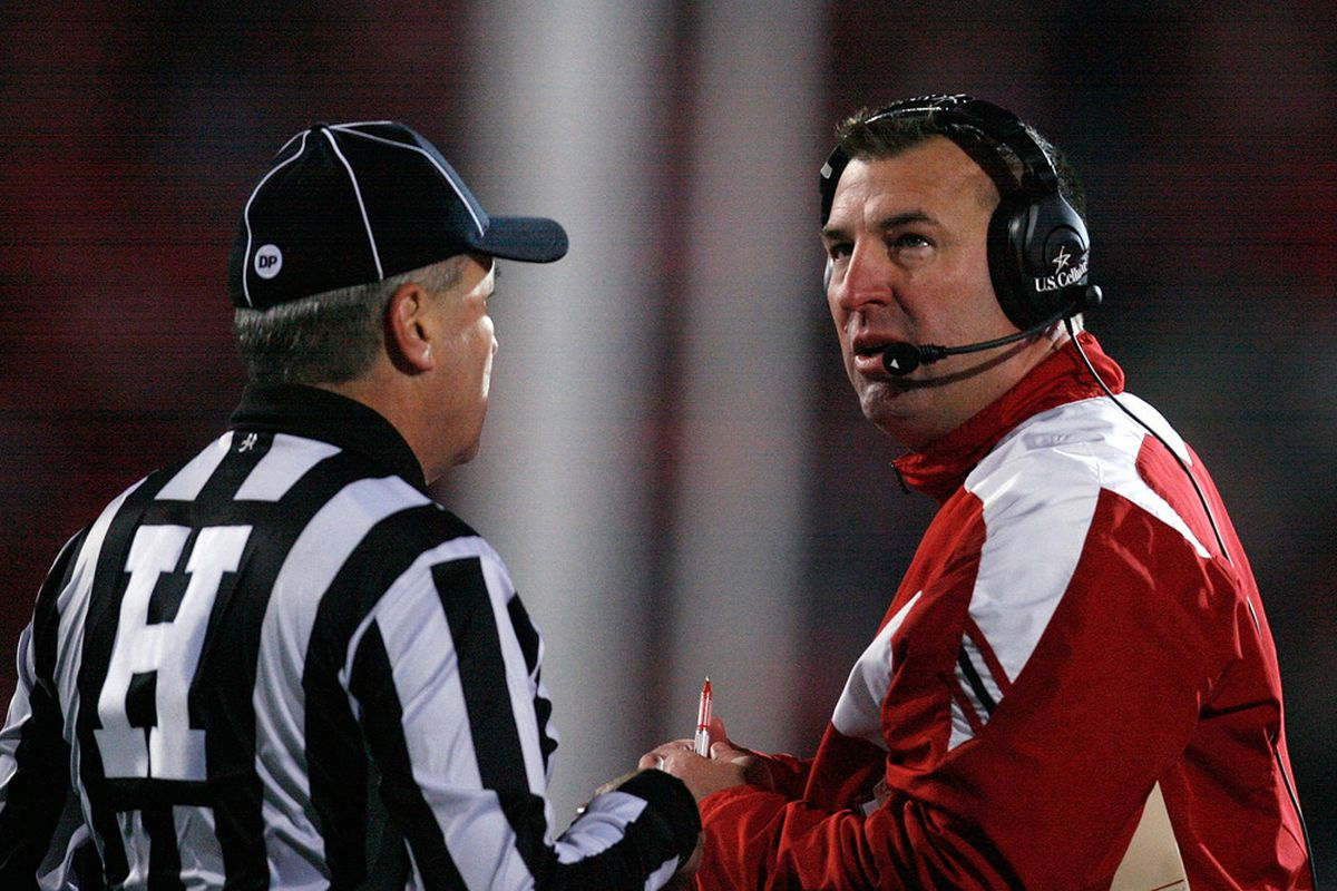 Something tells me our favorite highlight of the past year wasn't Bret Bielema's.