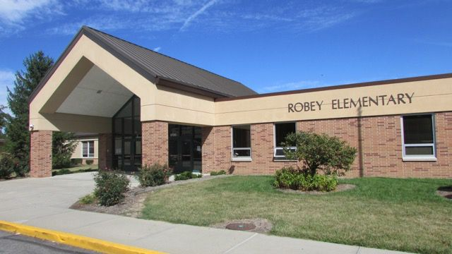 Improved test scores at Wayne Township's Robey Elementary School helped raise its grade to an A from a D in 2010.
