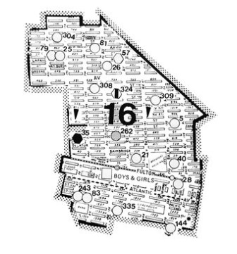 District 16 in 1977.