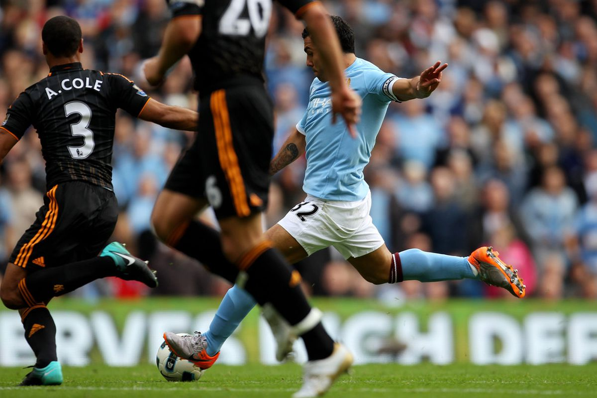Carlos Tevez (Photo by Alex Livesey/Getty Images)