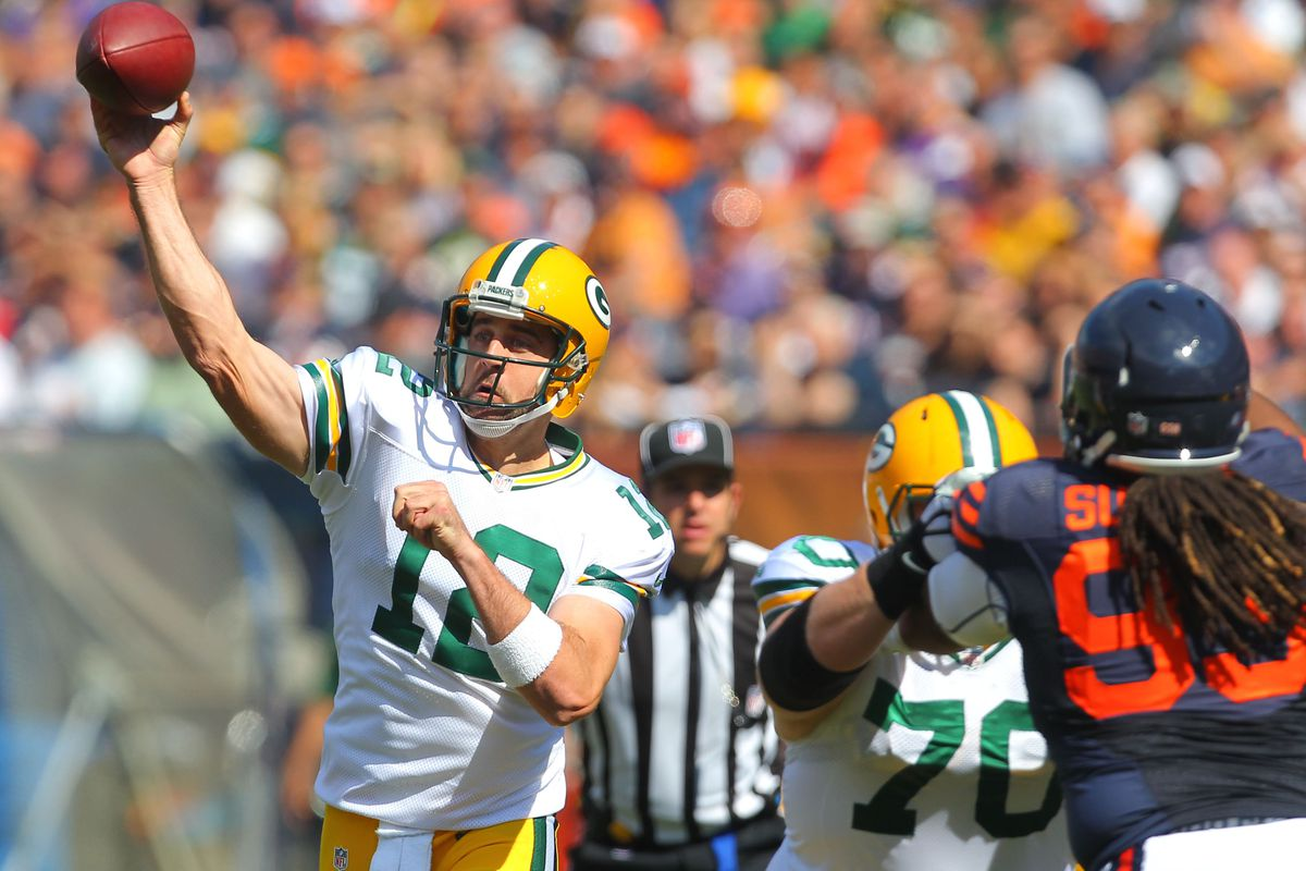 Dennis Wierzbicki USA TODAY Sports We Know Aaron Rodgers