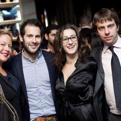 Brooke Hammerling, Ben Leventhal, Paula Froelich, Lockhart Steele.