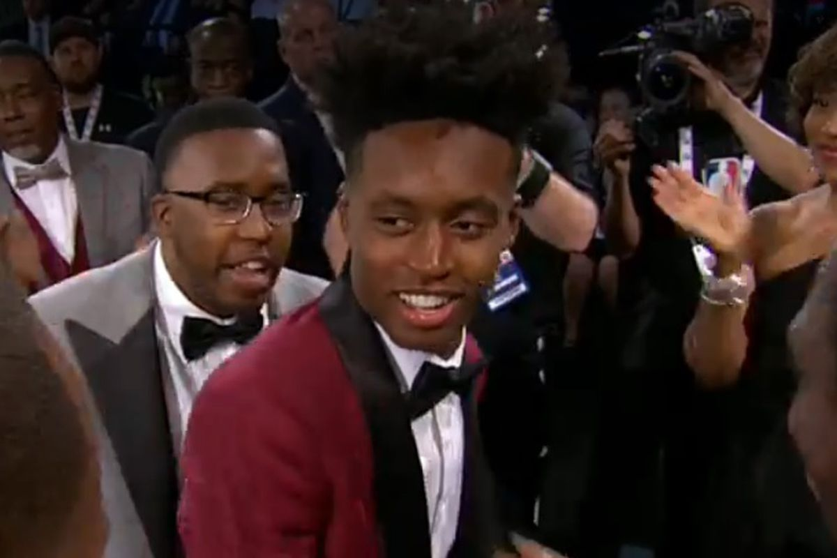 c7f64ee809ee Collin Sexton Drafted Number 8 in NBA Draft by the Cavaliers - Roll ...