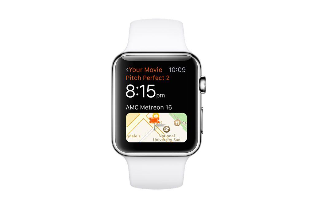 Fandango Apple Watch app (EMBARGOED)