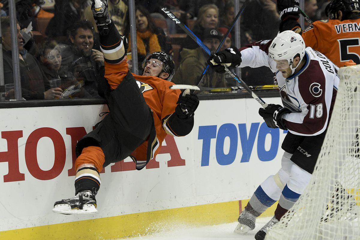 NHL: Colorado Avalanche at Anaheim Ducks