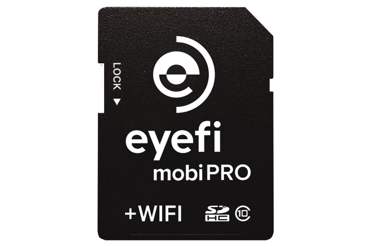 Eyefi's Mobi Pro card can wirelessly sync all your RAW photos - The