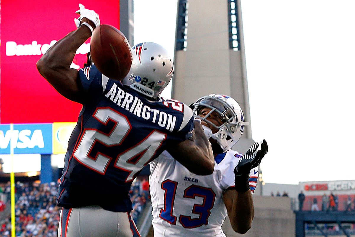 Kyle Arrington and the Patriots are working on a deal to keep him in New England.