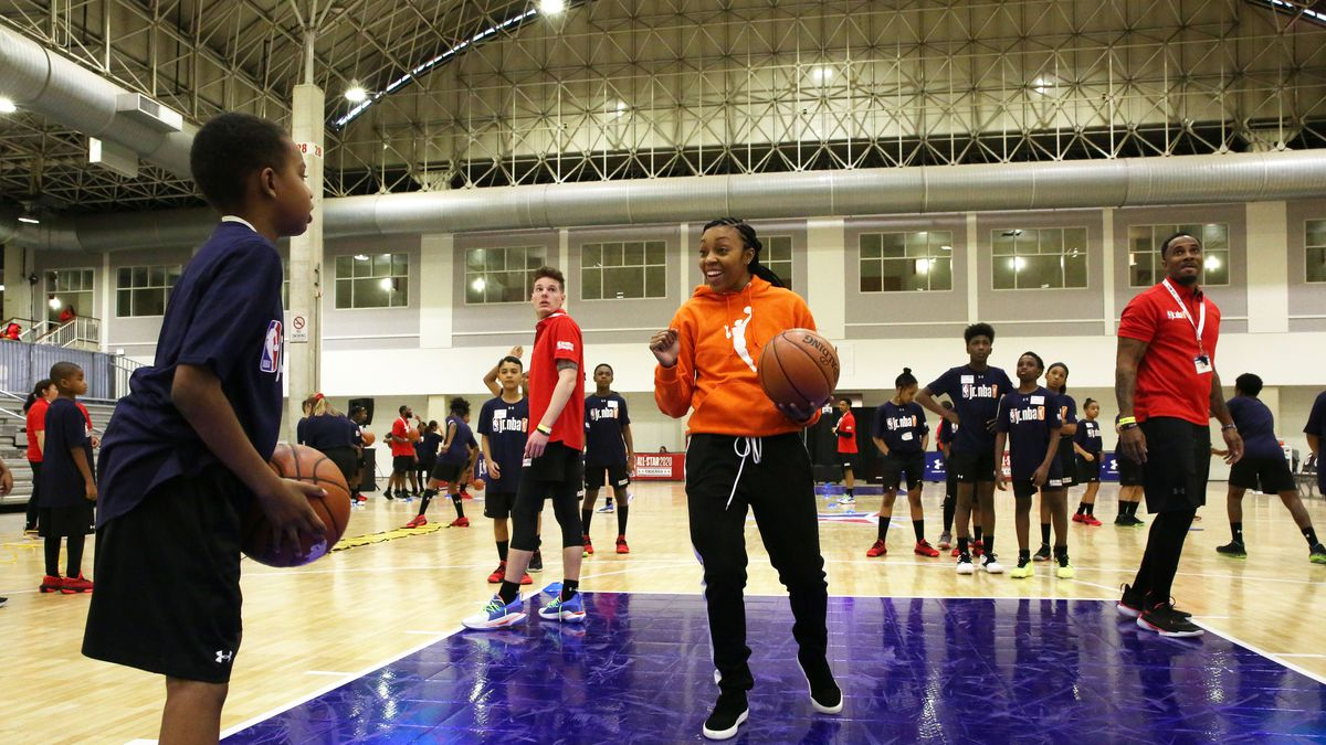 Jr. NBA Day presented by Under Armour