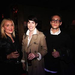 Kristi Paras, co-owner of Best New Store winner Personnel of New York, with Jessica Allen and Collin Citrone of Allen Media Consulting