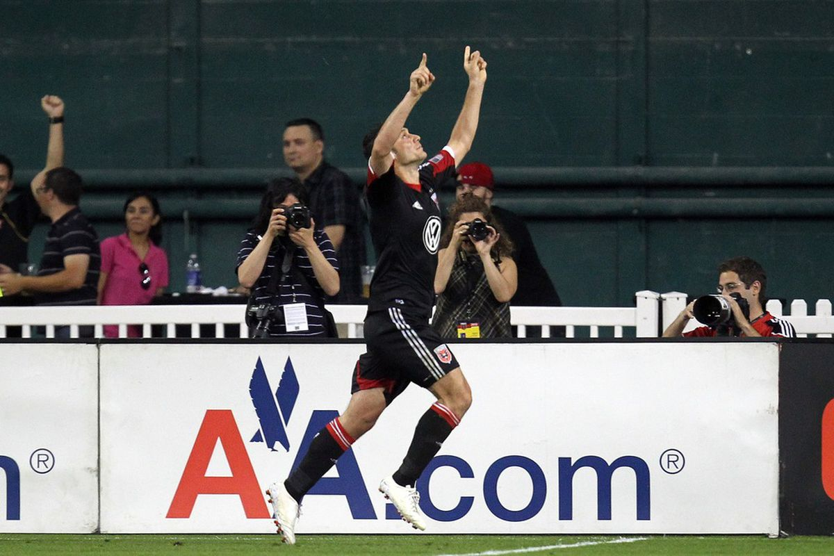 Hamdi Salihi had an outstanding game for D.C. United, but so did most of the rest of the team in what was a comprehensive win over the Colorado Rapids.