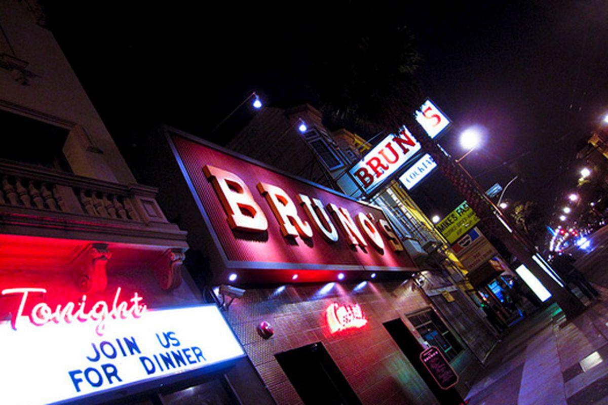 Bruno's.