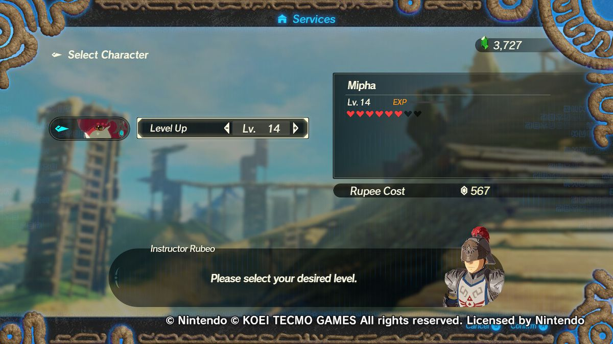 How To Level Up In Hyrule Warriors Age Of Calamity Polygon