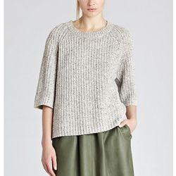 "<b>Reiss</b> Mits Chunky Rib in soft grey <a href=""http://www1.bloomingdales.com/shop/product/reiss-t-shirt-mits-chunky-rib?ID=650753&PseudoCat=se-xx-xx-xx.esn_results"">$147</a> at Bloomingdale's"