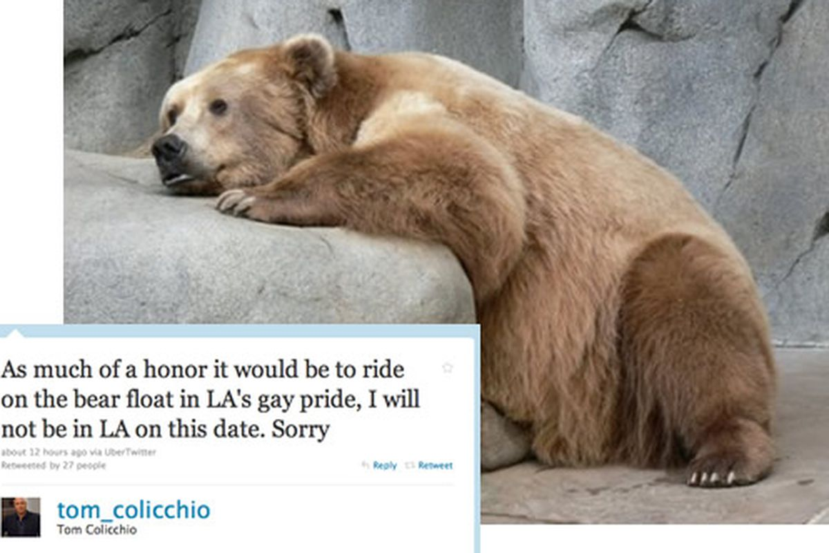 Correction: Tom Colicchio Will NOT Ride on a Bear Float - Eater
