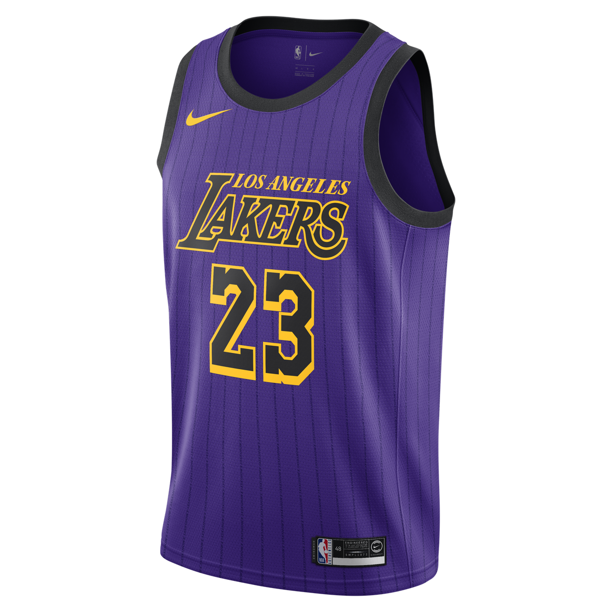 74824ea05d0b LeBron James Nike Swingman Jersey - City Edition for  109.99 Fanatics
