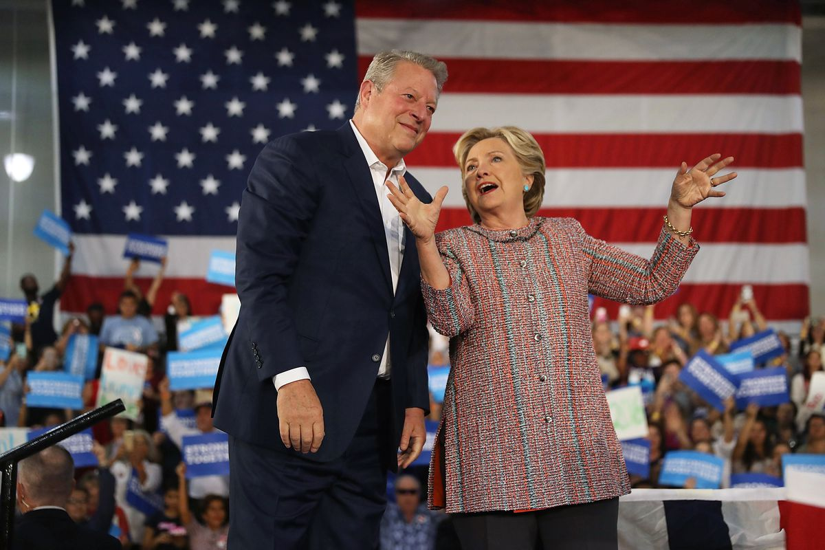 clinton and gore