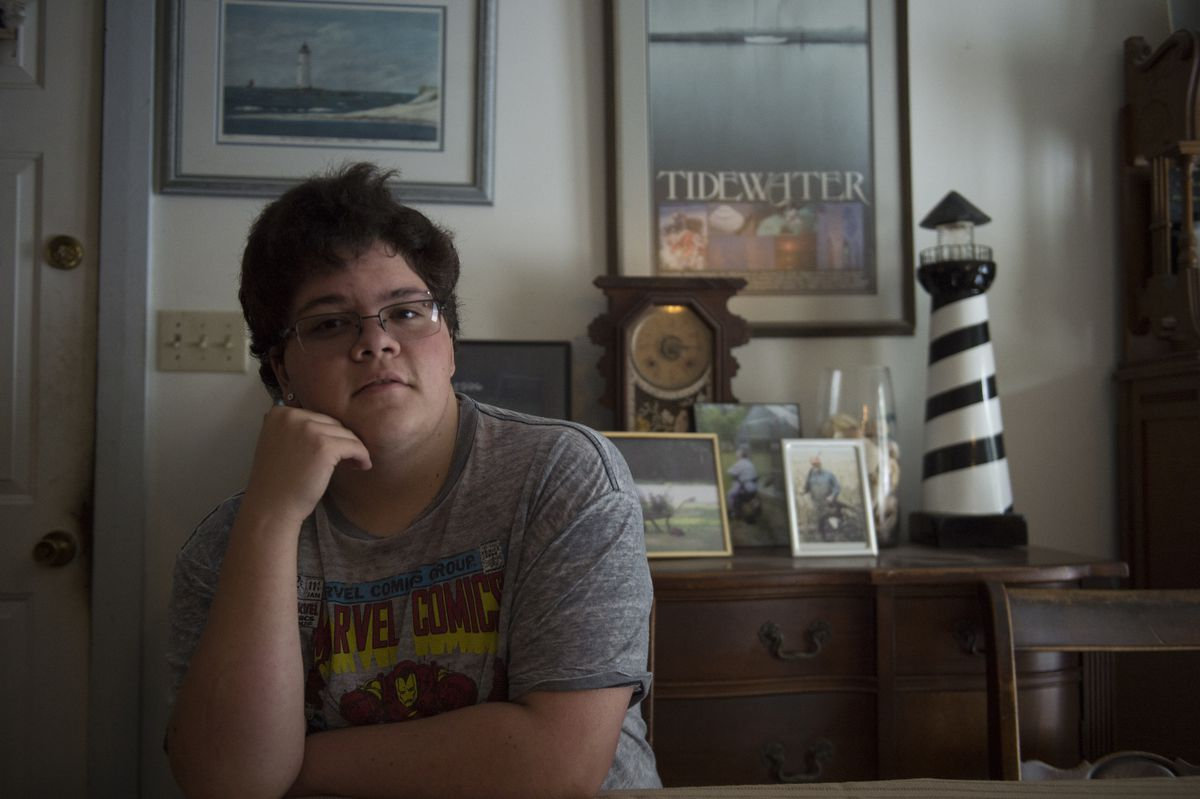 Gavin Grimm, a transgender teenager, sued his school for access to the correct bathroom.