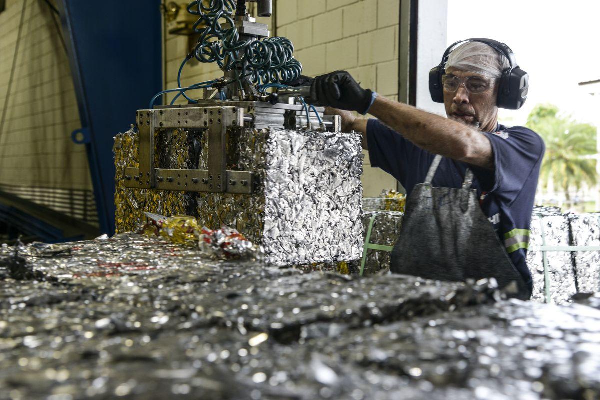 Brésil - Environnement - Recyclage de l'aluminium