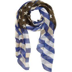 "<b>Roda</b> United States Flag Scarf, <a href=""http://www.barneys.com/Roda-United-States-Flag-Scarf/00505023490444,default,pd.html?q=flag&index=1"">$420</a> at Barneys"