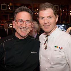 Rick Moonen and Bobby Flay.