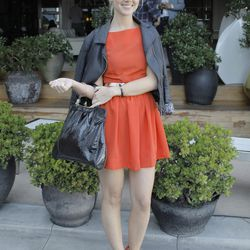 """An adorable milkmaid braid and bowtie platform sandals pairing on Kellen Hofer of <a href=""""http://kellen-andsoitgoes.blogspot.com/""""target=_blank"""">And So It Goes</a>."""